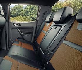 Ford Ranger seats