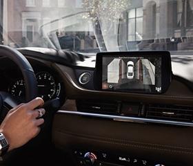 2019 Mazda 6 Wagon interior 360 degree camera