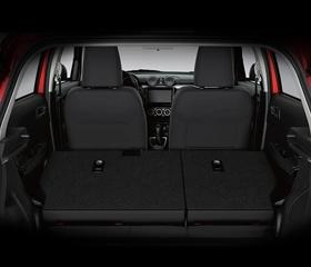 Suzuki Swift cargo space