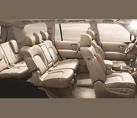 Nissan Patrol Royale interior