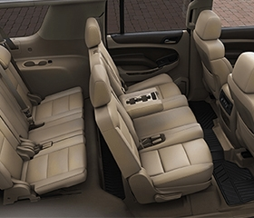 2019 Chevrolet Suburban interior leather seats