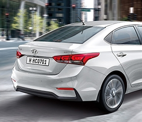 2019 Hyundai Accent Tail Lights
