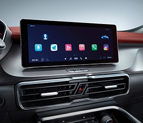 2020 Geely Coolray interior infotainment system
