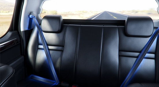 2013 Foton Thunder rear seats