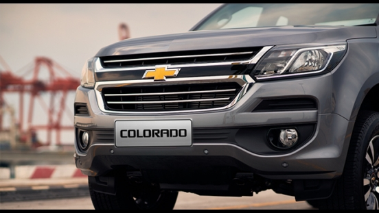 2019 Chevrolet Colorado grille