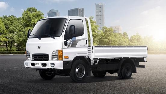 2019 Hyundai HD36 dropside truck