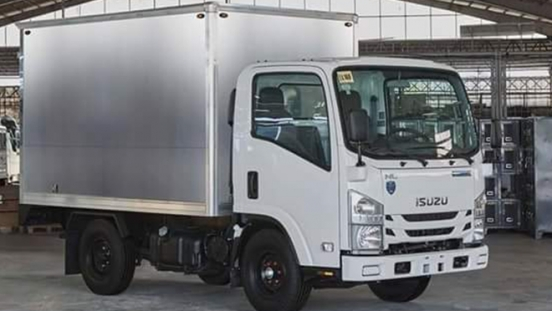 2019 Isuzu N-Series NLR77 Aluminum Van Body