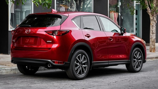 2019 Mazda CX-5 rear
