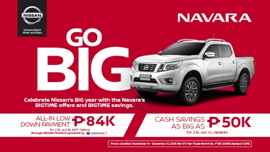2019 Nissan Navara promo Philippines