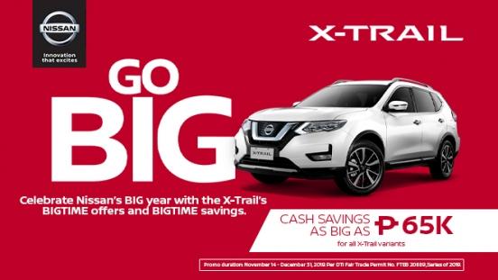 2019 Nissan X-Trail promo Philippines