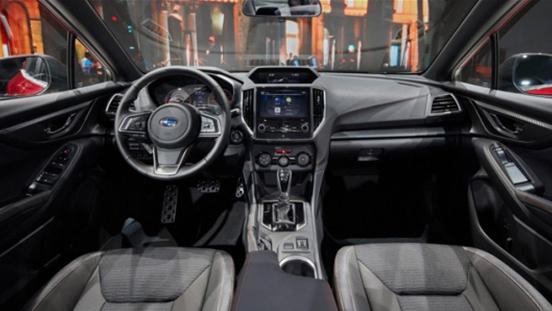 2019 Subaru Impreza interior
