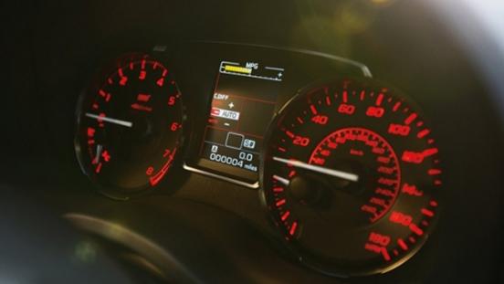 2019 Subaru WRX STI Gauge