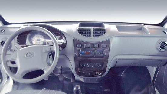 2020 BAIC Feedon Utility Vehicle Double Cab interior