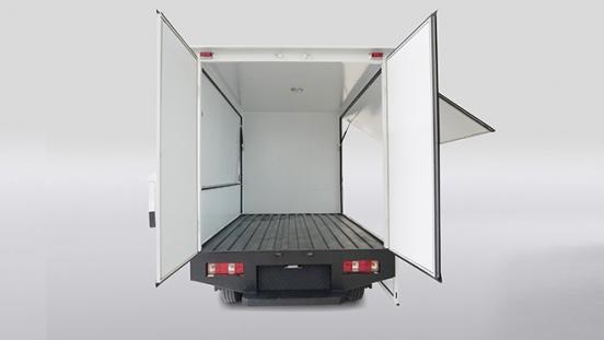2020 BAIC Freedom Cargo open Wing Van open rear