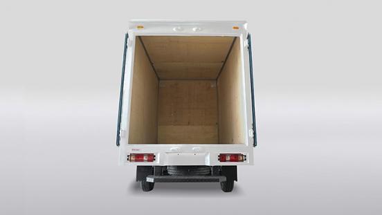 2020 BAIC Freedom Closed Van open rear