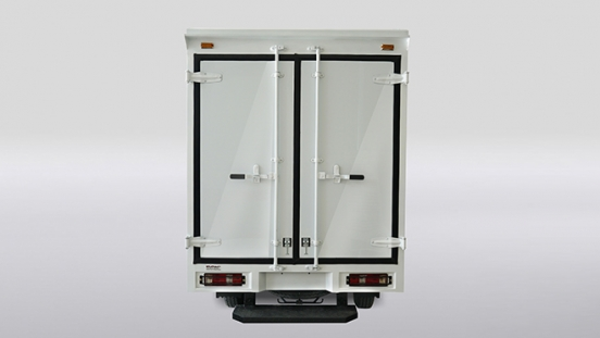2020 BAIC Freedom Closed Van rear