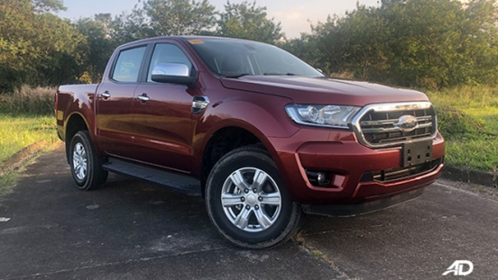 2020 Ford Ranger exterior red Philippines