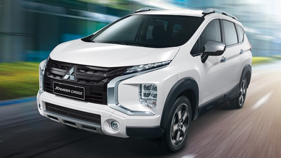 2020 Mitsubishi Xpander Cross exterior white space Philippines