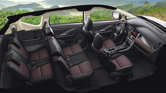 2020 Mitsubishi Xpander Cross interior space Philippines