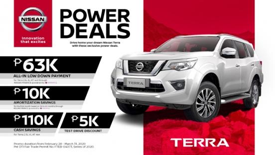 2020 Nissan Terra exterior Philippines