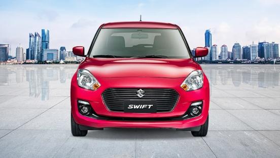 2020 Suzuki Swift front red Philippines