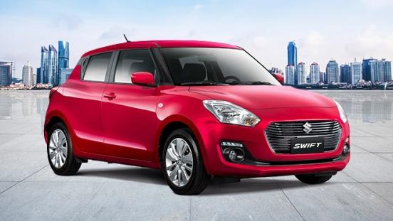 2020 Suzuki Swift red exterior Philippines