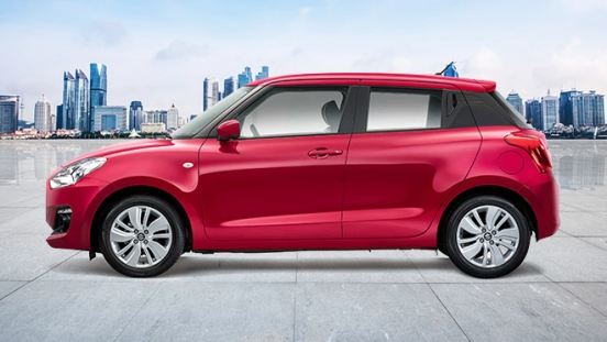 2020 Suzuki Swift side red Philippines