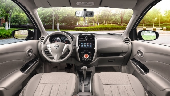 2021 Nissan Almera interior dashboard Philippines