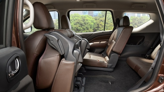 2021 Nissan Terra interior foldable seats Philippines