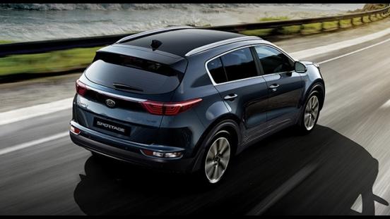 Kia Sportage 2018 rear