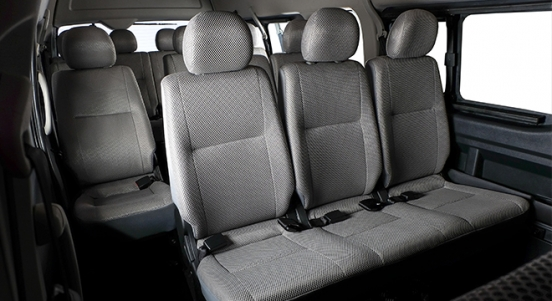 2018 Foton View Traveller 16-seater seats