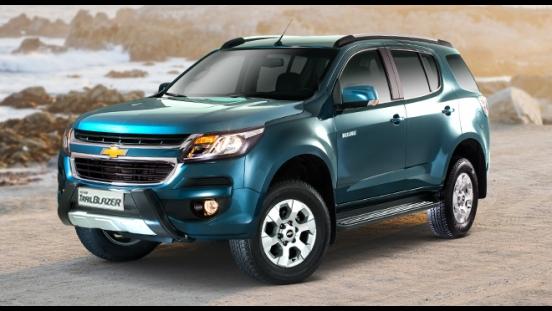 Chevrolet Trailblazer Mountain Blue