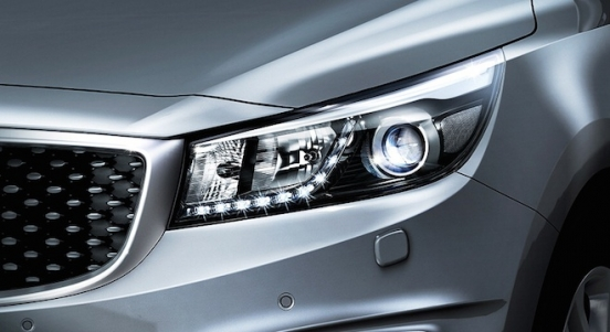 Kia Grand Carnival 2018 headlight