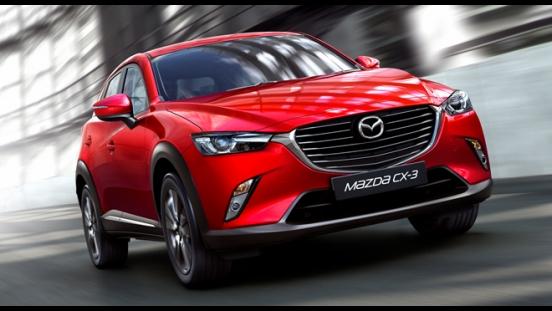 2018 Mazda CX-3 2.0L FWD SPORT front