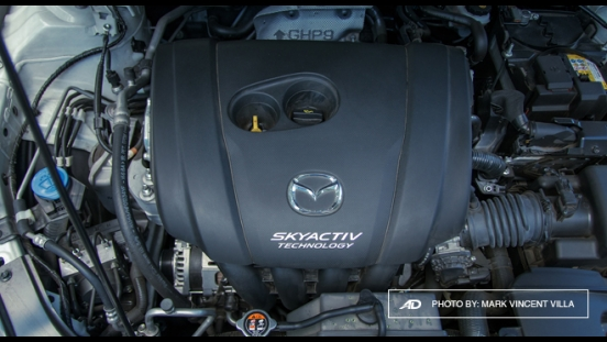 Mazda6 SkyActiv-G Sports Wagon Engine