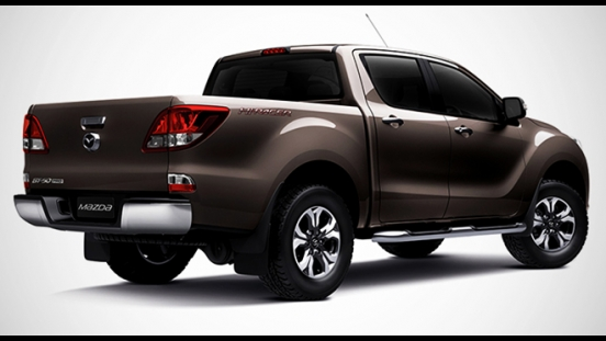 2018 Mazda BT-50 2.2L 4X2 MT rear