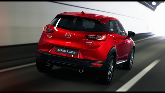 2018 Mazda CX-3 2.0L FWD SPORT rear