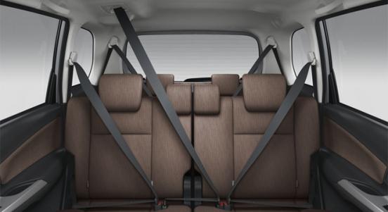 Toyota Avanza 2018 seats