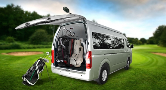 2018 Foton View Traveller 16-seater rear
