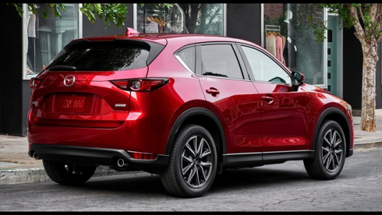 2018 Mazda CX-5 AWD Sport rear