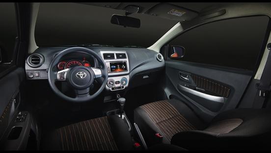 Toyota Wigo 2018 interior