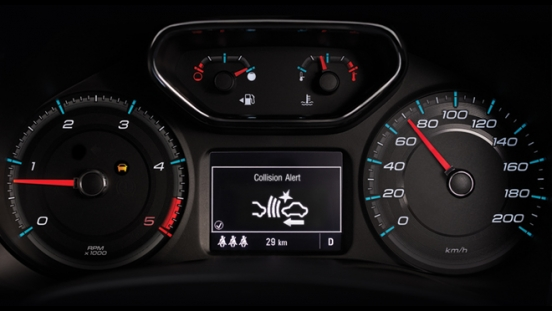 2019 Chevrolet Colorado gauge cluster