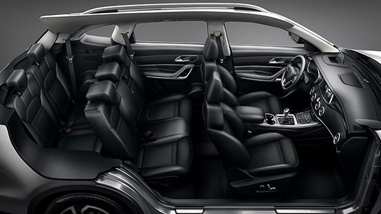 JAC S7 Seating Configuration