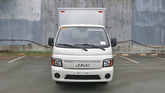 JAC X200 Aluminum Van