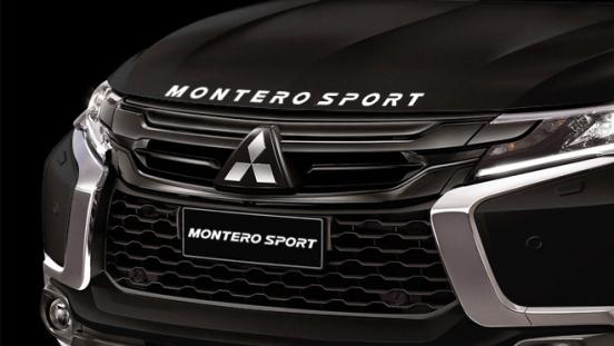 2019 Mitsubishi Montero Sport Black Series