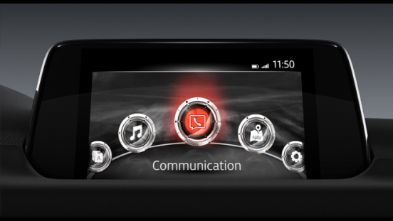 2018 Mazda CX-5 AWD Sport infotainment system