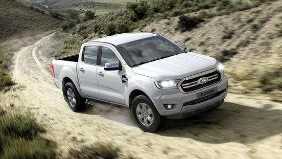 Ford Ranger exterior front white