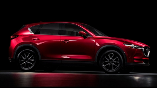 2018 Mazda CX-5 AWD Sport side