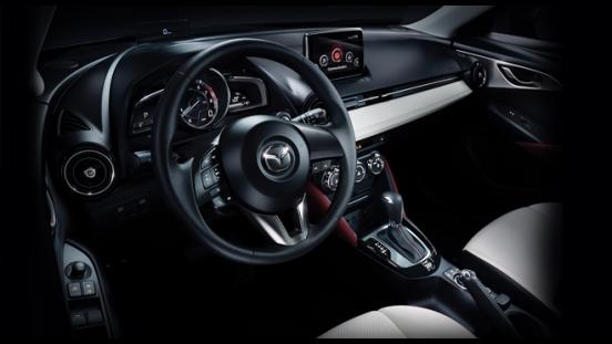 2018 Mazda CX-3 2.0L FWD SPORT interior