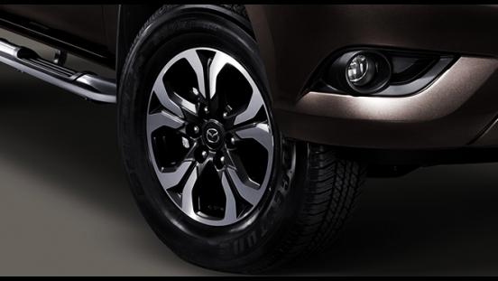 2018 Mazda BT-50 2.2L 4X2 MT wheels